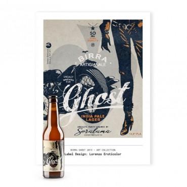 Ghost – N° 2 confezioni da 24 bottiglie 33 cl + Poster Lorenzo Eroticolor 45 x 65 cm Omaggio
