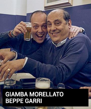 Giancarlo Morellato e Beppe Garri
