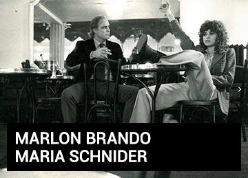 Marlon Brando e Maria Schnider